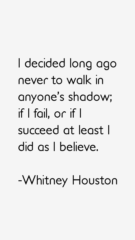Whitney Houston Quotes
