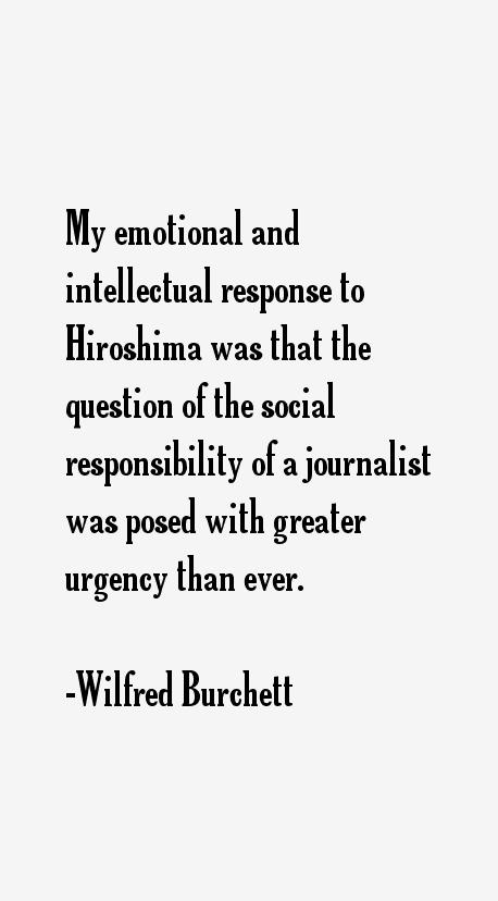 Wilfred Burchett Quotes