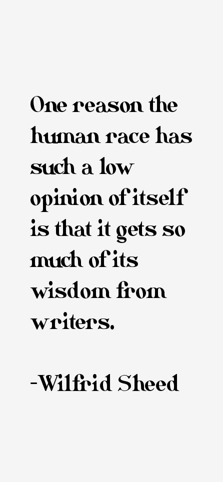 Wilfrid Sheed Quotes