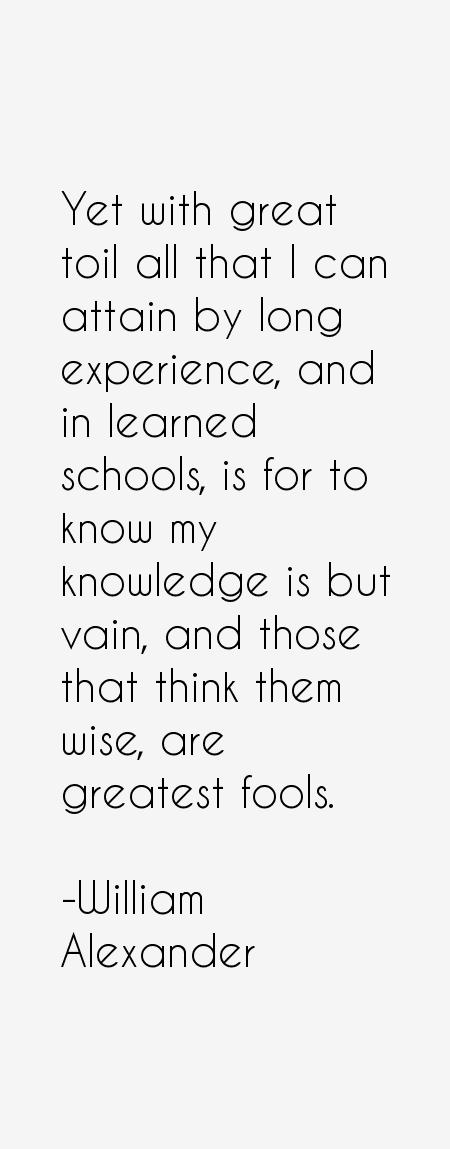 William Alexander Quotes