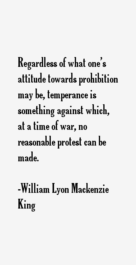 the success of william lyon mackenzie king Secret of success (king) grandfather of prime minister alexander mackenzie, william lyon mackenzie was a colourful figure in pre-confederation politics known for his.