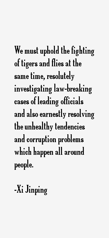 Xi Jinping Quotes