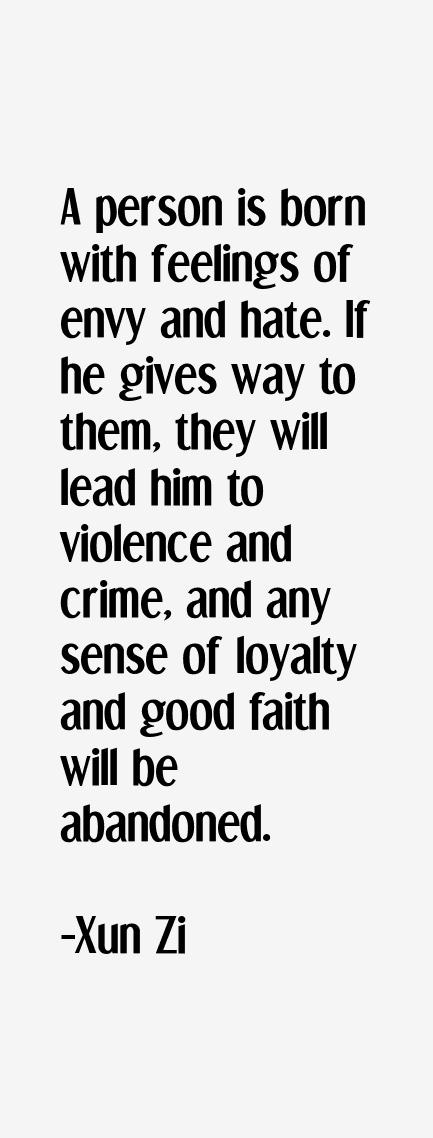 Xun Zi Quotes