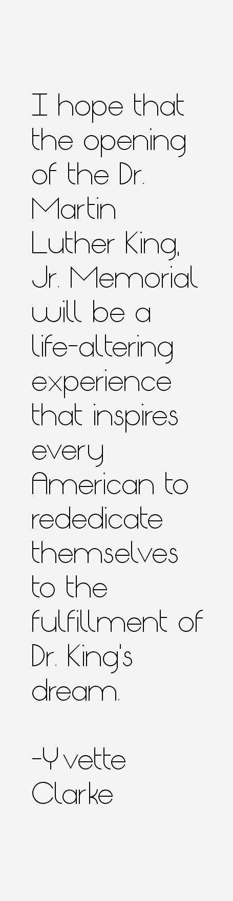 Yvette Clarke Quotes