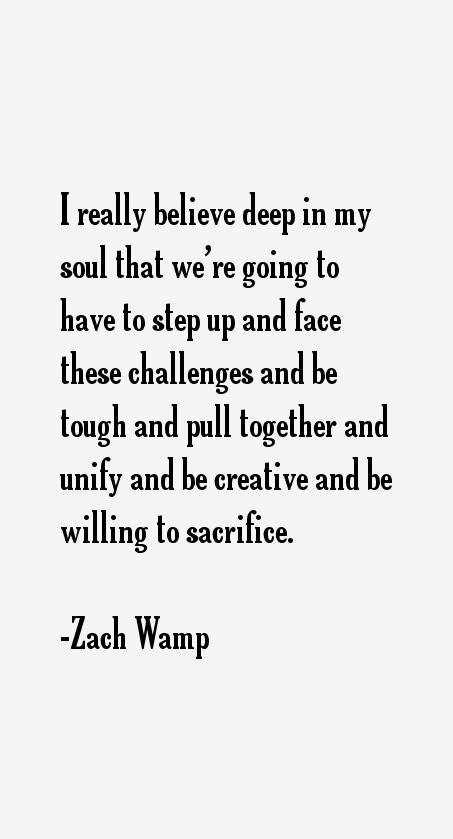 Zach Wamp Quotes