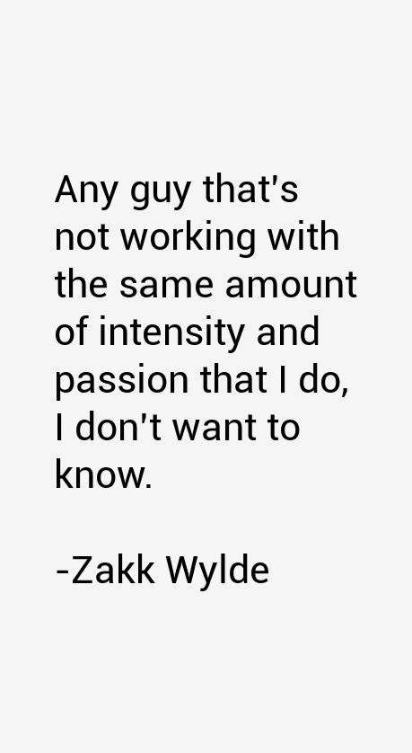 Zakk Wylde Quotes