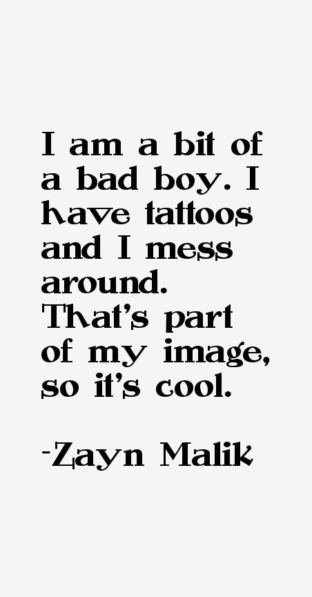 Zayn Malik Quotes