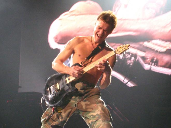 Edward Van Halen Dating